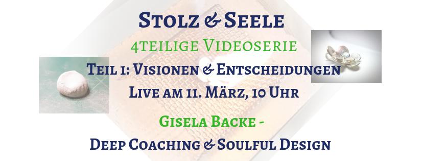 """Teil 1 der Videoserie """"Stolz & Seele"""": Visionen und Entscheidungen"""