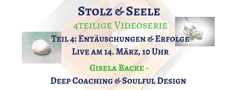 """Teil 4 der Videoserie """"Stolz & Seele"""": Enttäuschungen & Erfolge"""
